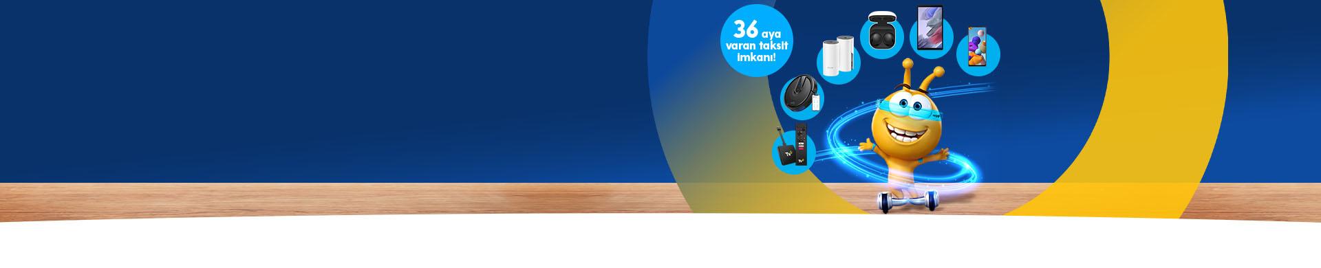 Turkcell Ev İnternetiyle hazır hızını almışken akıllı cihazını da al!