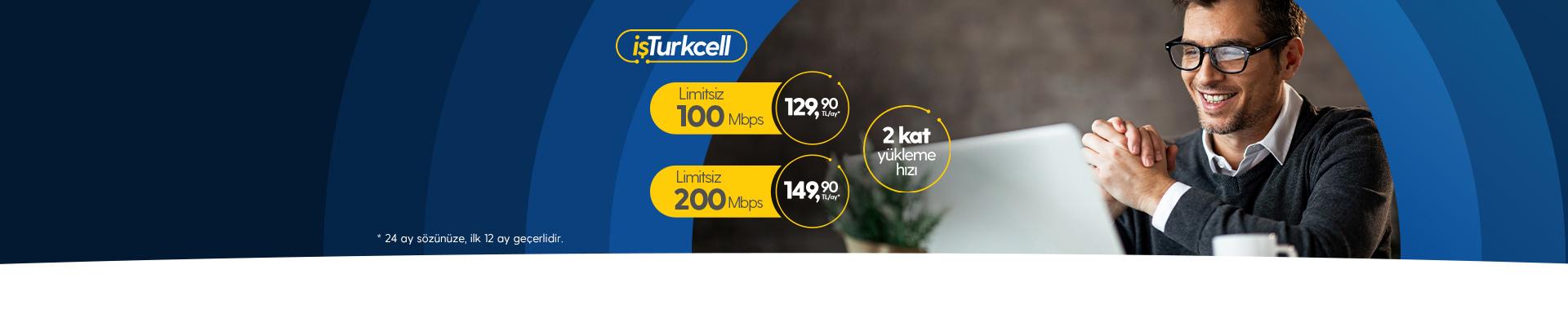 İşinize Turkcell fiber hızı!