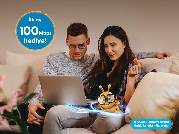 Turkcell Fiber 3 Ay Ücretsiz Platin Paketler Kampanyası