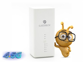 Superbox 4.5G Ev İnterneti Kampanyası