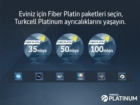 Turkcell Fiber Platin Paketler Kampanyası