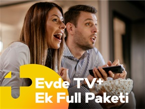 Evde TV+ Ek Full Paketi